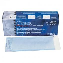 Bolsa Esterilizacion 254X381Mm 200Uds Cybertech