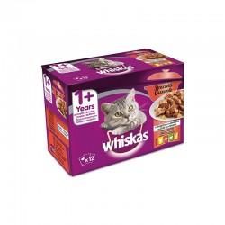 Whiskas 12Pack Casserole 1+ Aves 12X85Gr