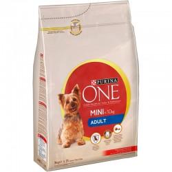 One Mini Dog Adult Buey&Arroz 3kg