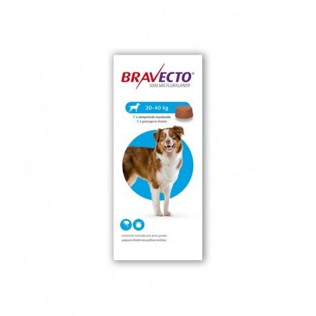 Bravecto 1000Mg 1 Comp 20-40Kg L Azul.