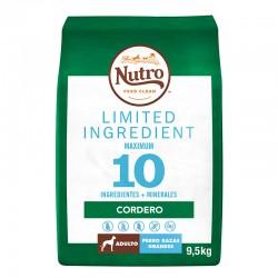 Nutro Lim Perro Adulto Grande Cordero 9,5Kg