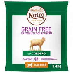 Nutro GF Perro Junior Mediano Cordero 4X1,4Kg