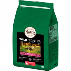 Nutro W.Frontier Gato Adulto Pavo/Pollo 4Kg