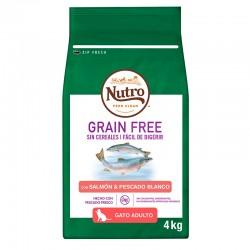 Nutro GF Gato Adulto Salmon 4Kg