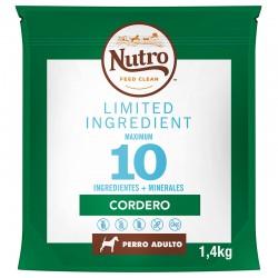 Nutro Lim Perro Adulto Mediano Cordero 4X1,4Kg