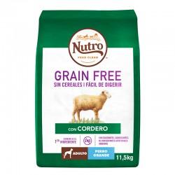 Nutro GF Perro Adulto Grande Cordero 11,5Kg