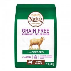 Nutro GF Perro Adulto Mediano Cordero 11,5Kg