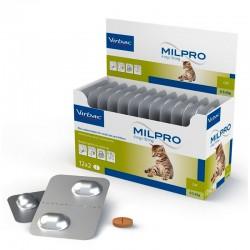 Milpro Gatos Pequeños Y Gatitos 10/6 Mg 24 Comp