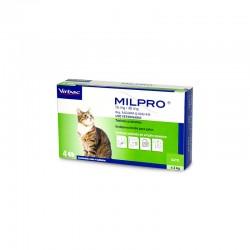 Milpro Gatos 40/16 Mg 4 Comp