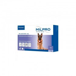 Milpro Perros 125/12,5 Mg 4 Comp