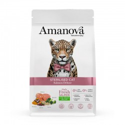 Sterilised Cat Salmon Deluxe & Quinoa 300Gr
