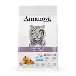 Amv Sterilised Cat Fish Delicacy & Calabaza 1,5Kg
