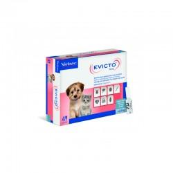 Evicto 15Mg 4Pip 0-2,5Kg Gatos y Perros