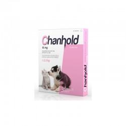 Chanhold 15Mg 3Pip XS 0-2,5Kg Perros y Gatos Rosa
