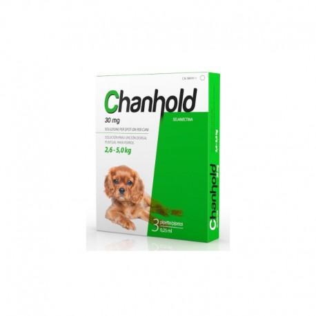 Chanhold 30Mg 3Pip S 2,6-5Kg Perros Verde