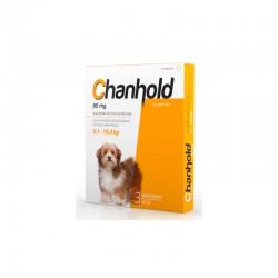 Chanhold 60Mg 3Pip M 5,1-10Kg Perros Amarillo