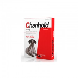 Chanhold 120Mg 3Pip L 10,1-20Kg Perros Rojo