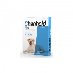 Chanhold 240Mg 3Pip XL 20,1-40Kg Perros Azul