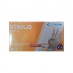 Guantes Vinilo No Esteril Soft XL 100Ud