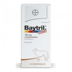 Baytril Sabor 150 Mg 10 Comp