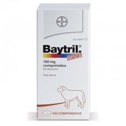 Baytril Sabor 150 Mg 100 Comp