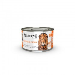 Amv WET Cat Chicken Cheese Broth 70Gr Nº02 24Ud
