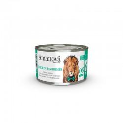Amv WET Cat Chicken Gambas Jelly 70Gr Nº06 24Ud