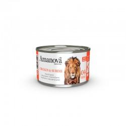 Amv WET Cat Chicken Surimi Broth 70Gr Nº04 24Ud