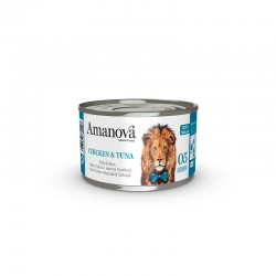 Amv WET Cat Chicken Tuna Broth 70Gr Nº05 24Ud