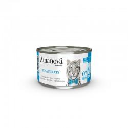 Amv WET Cat Tuna Fillets Broth 70Gr Nº07 24Ud