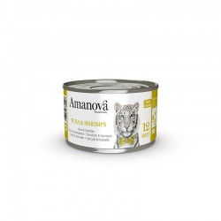 Amv WET Cat Tuna Gambas Broth 70Gr Nº12 24Ud