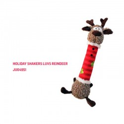 H20D118 Kong Holiday Shakers Luvs Reindeer