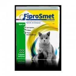 FiproSmet 50/60Mg Gatos Y Hurones 6Pip Verde