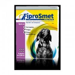 FiproSmet 268/241,2Mg Perro L 6Pip 20-40Kg Violeta