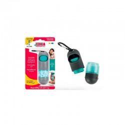 Dispensador Gel Desinfectante Mini 10Bolsas 95Gr