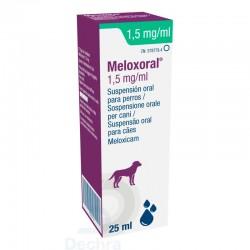 Meloxoral Perro 1,5Mg/Ml 25Ml