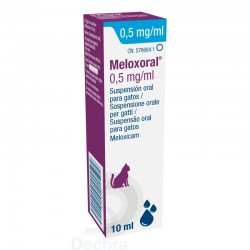 Meloxoral Gato 0,5Mg/Ml 10Ml