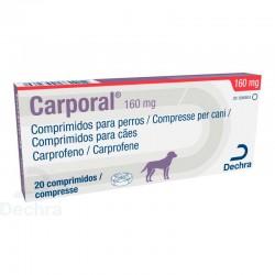 Carporal 160Mg 20 Comp