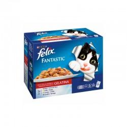 Felix Fantastic Festin De Carnes Mpack 6X12X100Gr