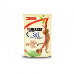 Cat Chow Adulto Buey 26X85Gr