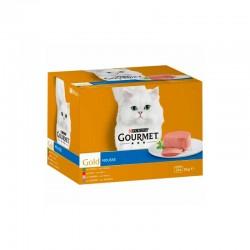 Gourmet Gold Mousse Surtido Mpack 4X24X85Gr