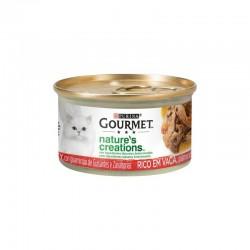 Gourmet Nature´s Creations Buey Zanahoria 24X85Gr