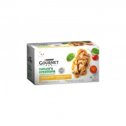 Gourmet Nature´s Creations Pll Pv Mpack 12X4X85Gr