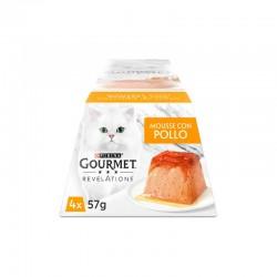 Gourmet Revelations Mousse Pollo Mpack 6X4X57Gr
