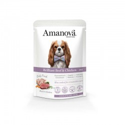 Amv WET Adult Beef Chicken Pouch 100Gr Nº01 12Ud