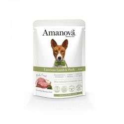 Amv WET Adult Lamb Pork Pouch 100Gr Nº05 12Ud