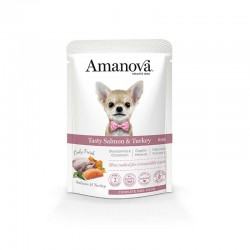 Amv WET Adult Salmon Turkey Pouch 100Gr Nº06 12Ud