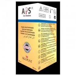 Aguja Punción Seca Safety Guía Azul 0,35X125 100Ud