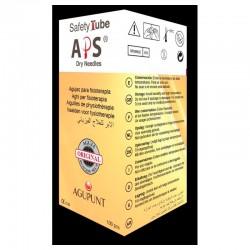 Aguja Punción Seca Safety Guía Lila 0,30X60 100Ud