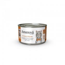 Amv WET Cat Tuna Cheese Broth 70Gr Nº19 24Ud
